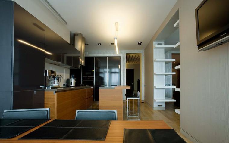 Квартира. кухня из проекта , фото №8540
