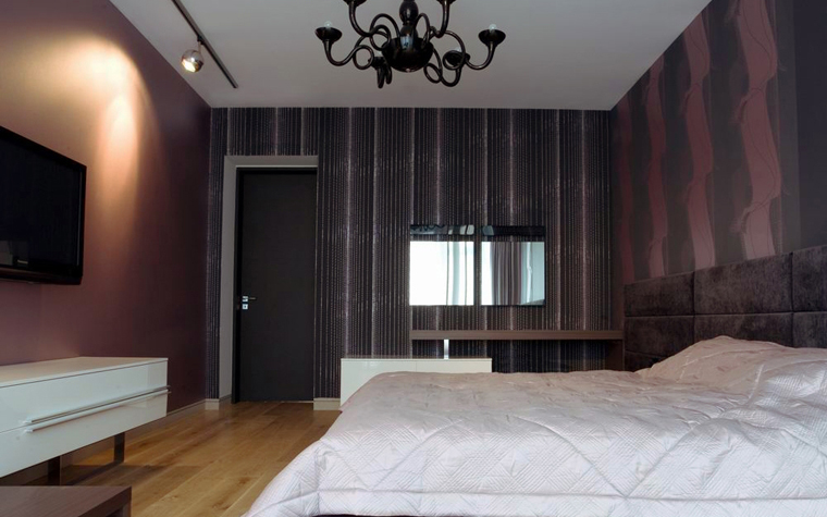 Квартира. спальня из проекта , фото №8542