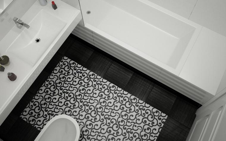 интерьер ванной - фото № 8570