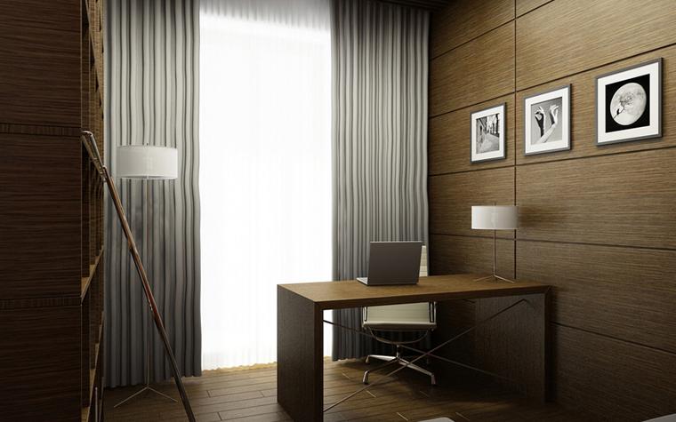 Квартира. кабинет из проекта , фото №8577