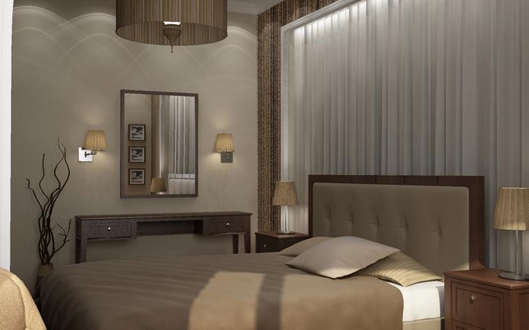 интерьер спальни - фото № 8578
