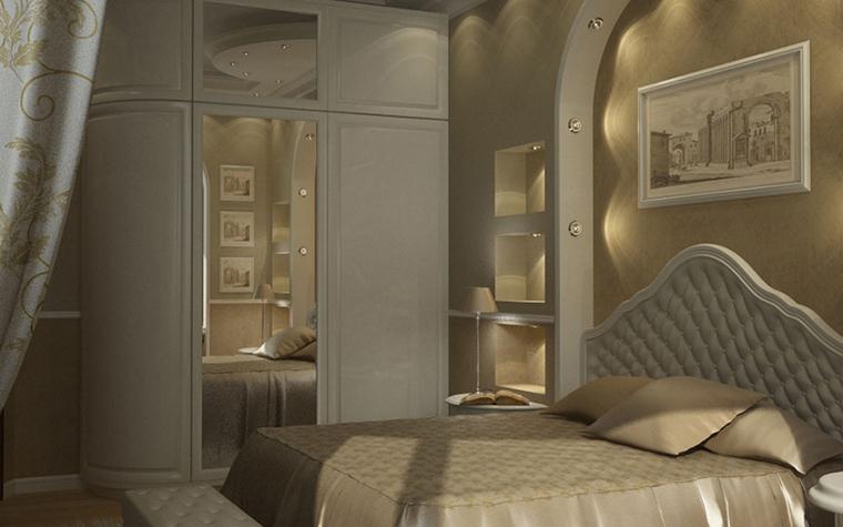 интерьер спальни - фото № 8587