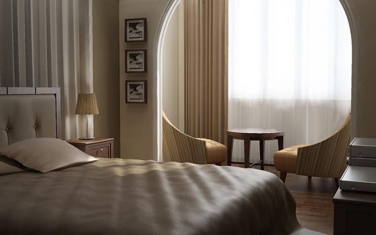 интерьер спальни - фото № 8579