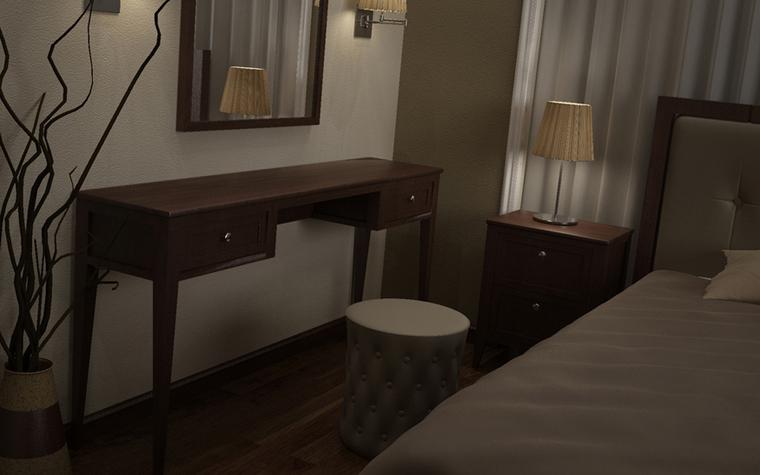 интерьер спальни - фото № 8580