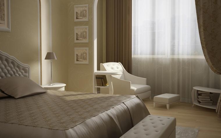 интерьер спальни - фото № 8581