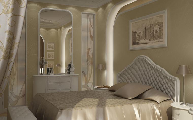 интерьер спальни - фото № 8582