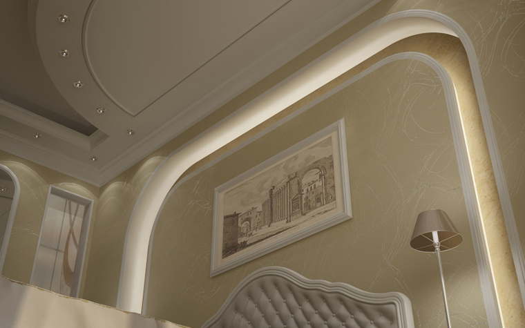 интерьер спальни - фото № 8583