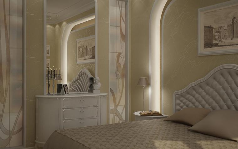 Фото № 8584 спальня  Квартира