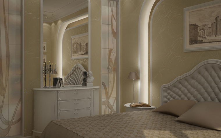 интерьер спальни - фото № 8584