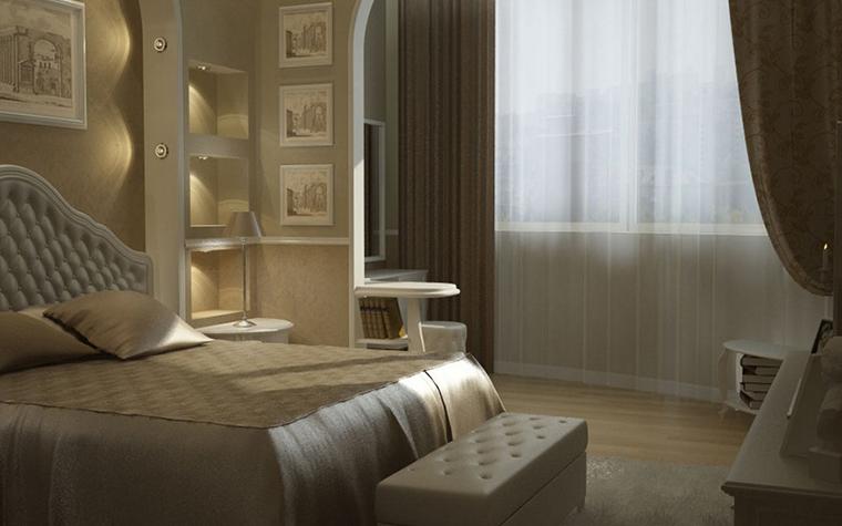 интерьер спальни - фото № 8586