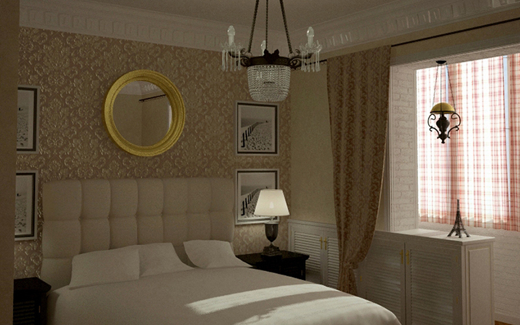 Фото № 8589 спальня  Квартира