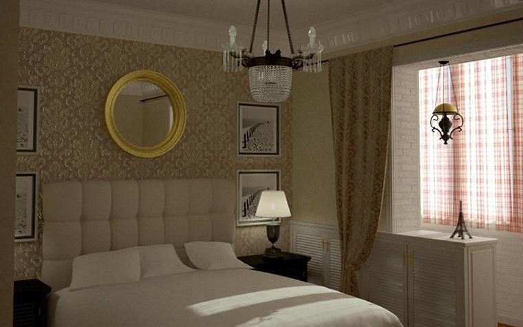 интерьер спальни - фото № 8589