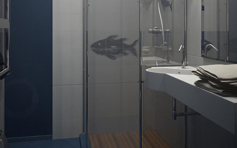 интерьер ванной - фото № 8593
