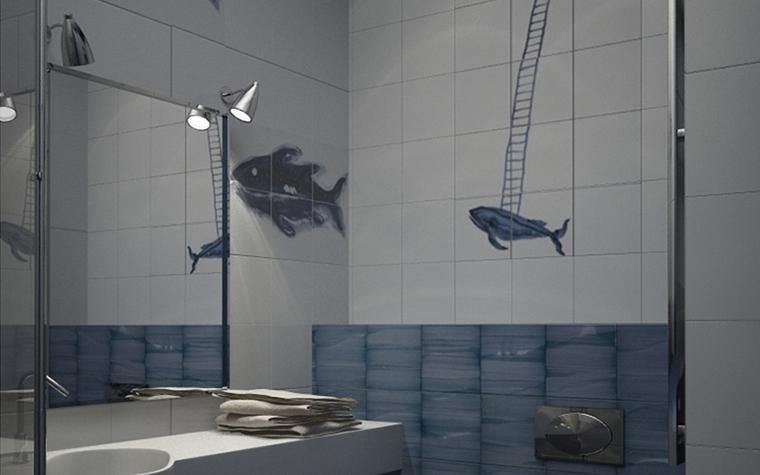 интерьер ванной - фото № 8595