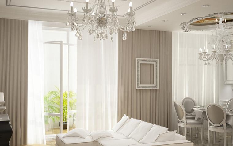 интерьер гостиной - фото № 8600
