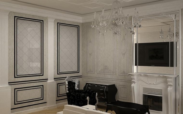 интерьер гостиной - фото № 8601