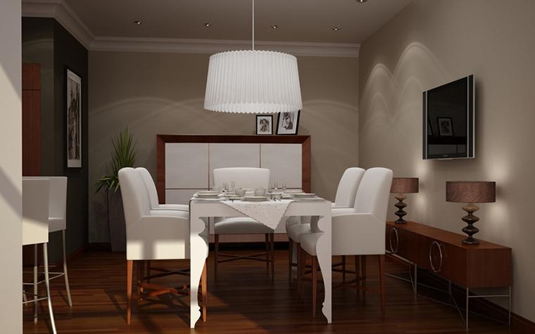 Квартира. кухня из проекта , фото №8610