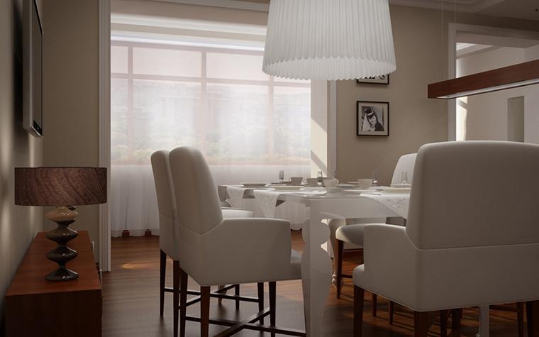 Квартира. кухня из проекта , фото №8611