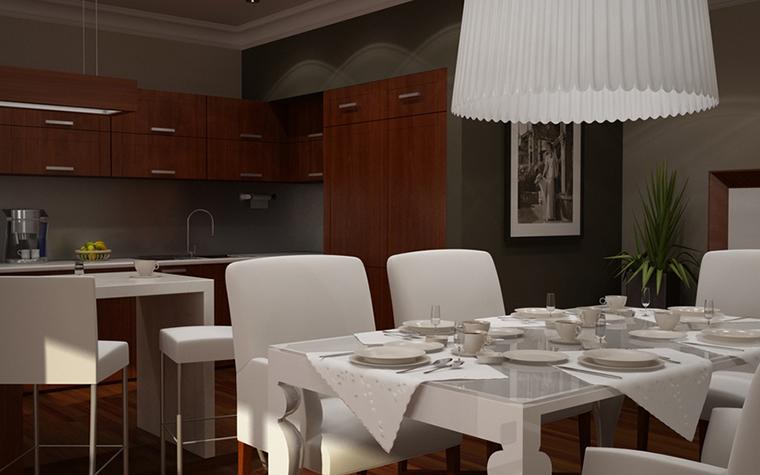 Квартира. кухня из проекта , фото №8612