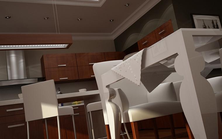 Квартира. кухня из проекта , фото №8613