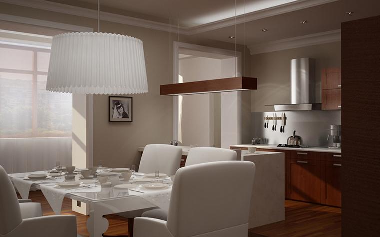 Квартира. кухня из проекта , фото №8614