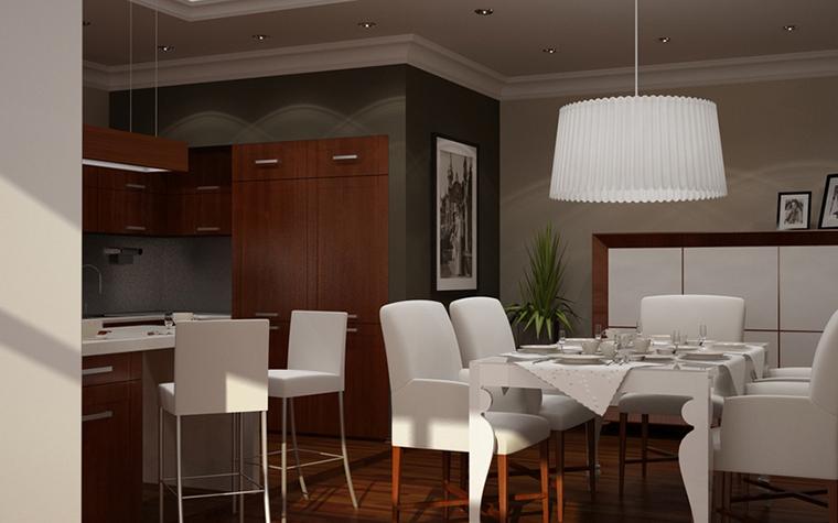 Квартира. кухня из проекта , фото №8615