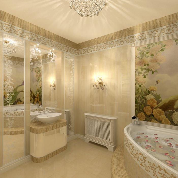 Фото № 8656 ванная  Квартира