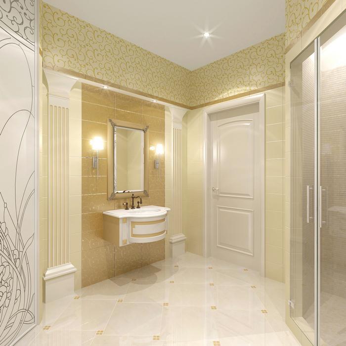 Фото № 8659 ванная  Квартира