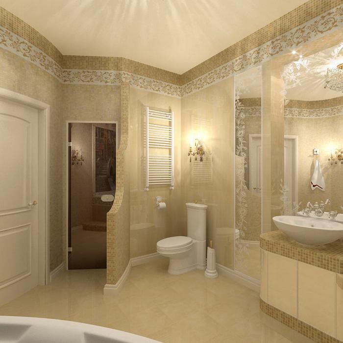 Фото № 8658 ванная  Квартира