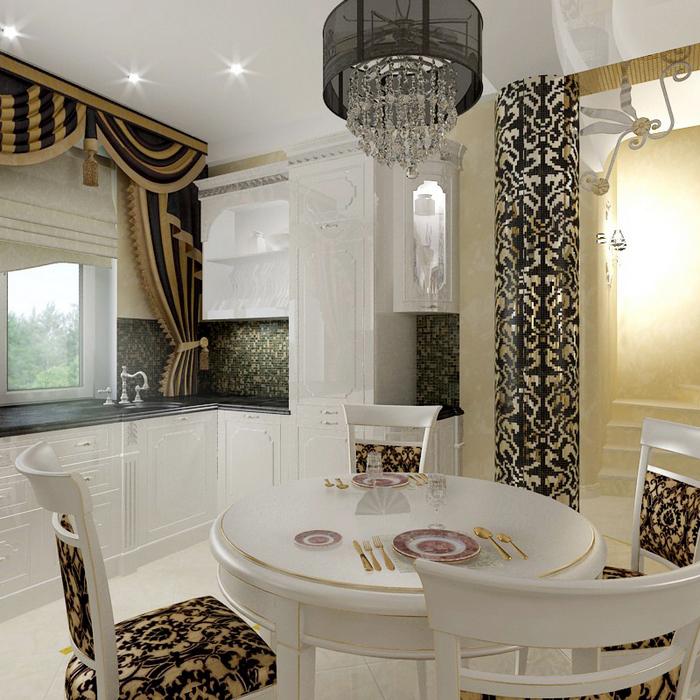 Фото № 8663 кухня  Квартира