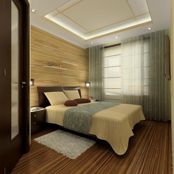 интерьер спальни - фото № 8671
