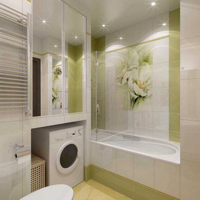 Фото № 8674 ванная  Квартира