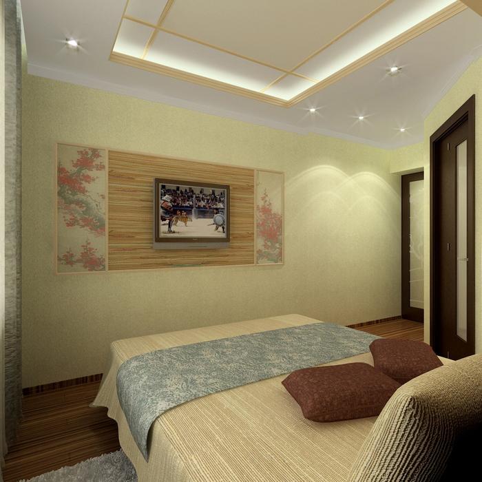 интерьер спальни - фото № 8670
