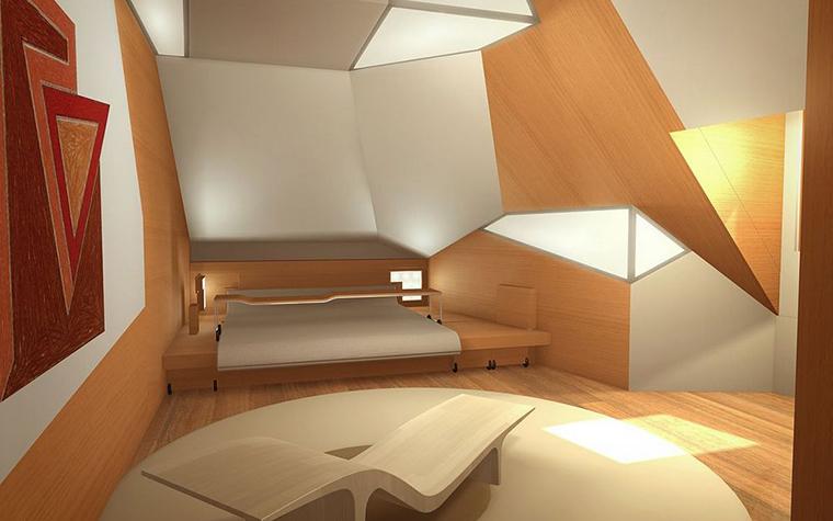 интерьер спальни - фото № 8714
