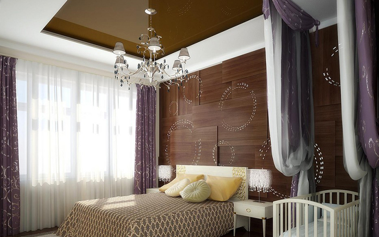 интерьер спальни - фото № 8879