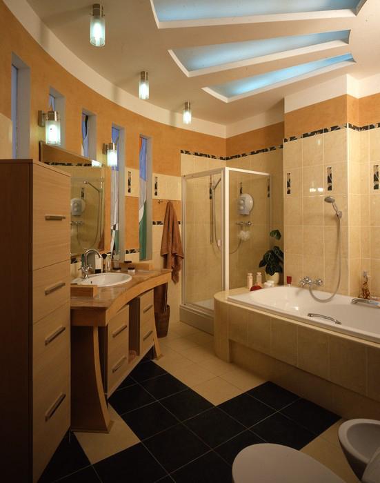 Квартира. ванная из проекта , фото №8887
