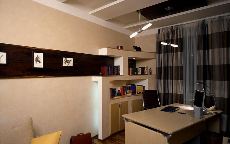 Квартира. кабинет из проекта , фото №8884