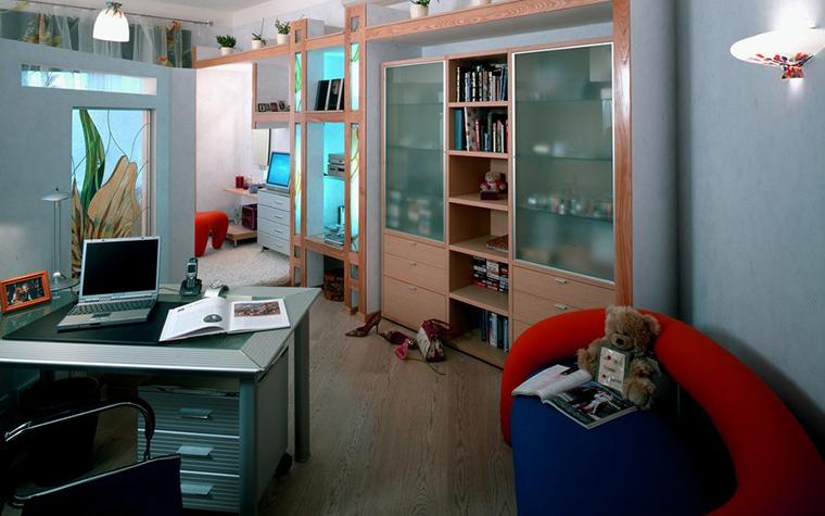 Квартира. кабинет из проекта , фото №8885