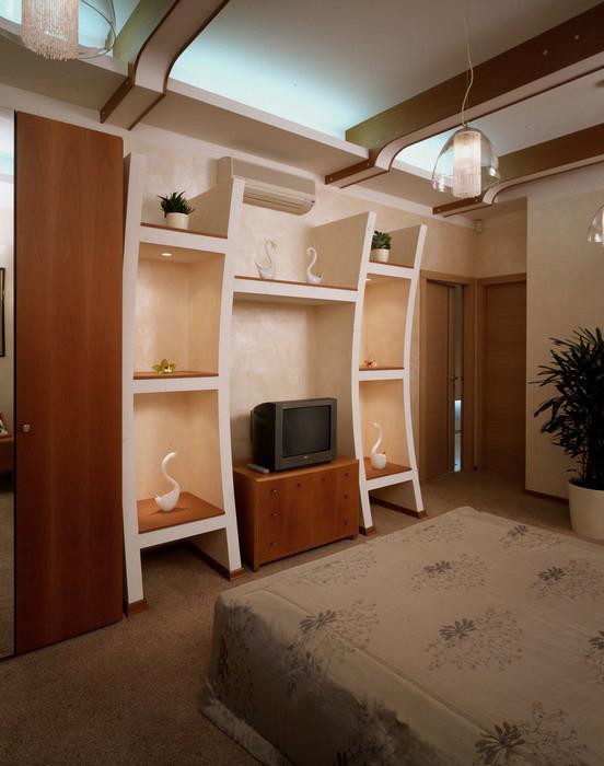 интерьер спальни - фото № 8886