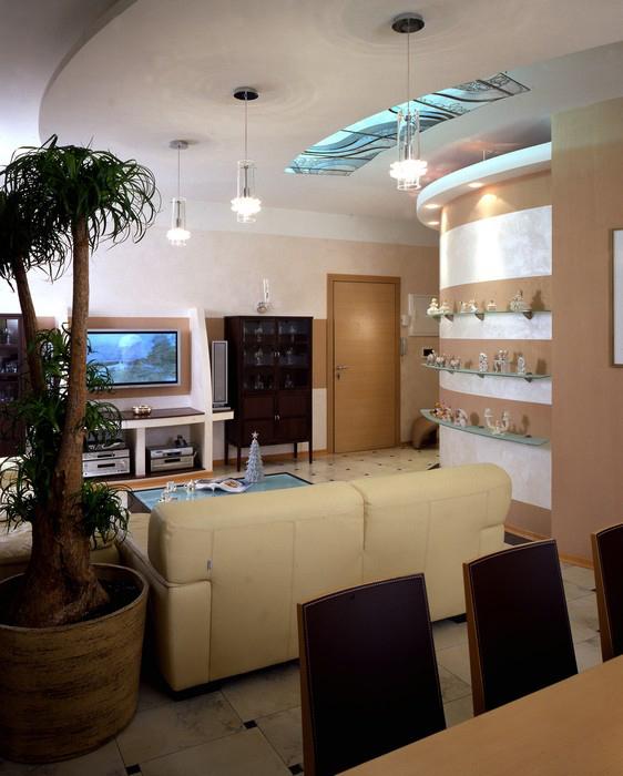 Фото № 8882 гостиная  Квартира