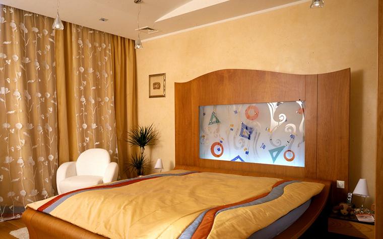 Квартира. спальня из проекта , фото №8892