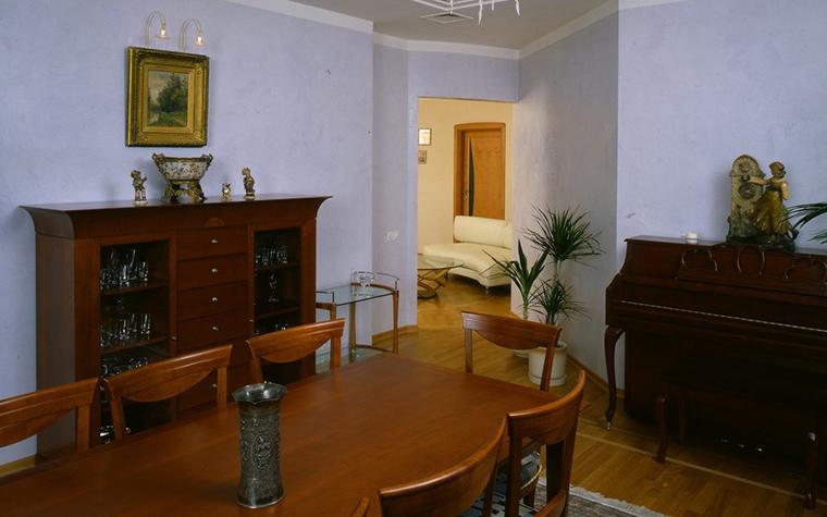 Квартира. столовая из проекта , фото №8896