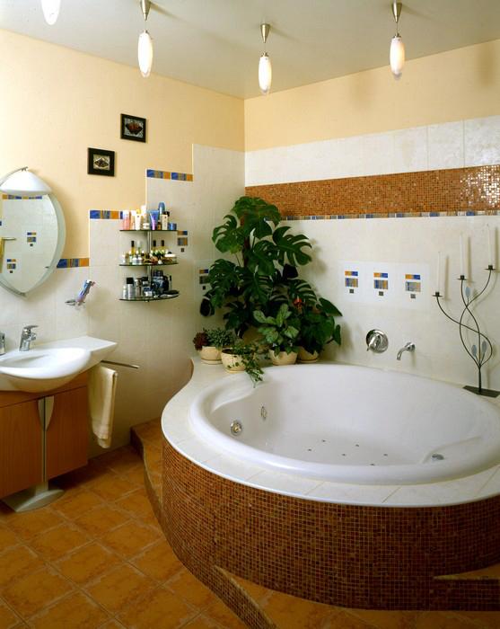 интерьер ванной - фото № 8893