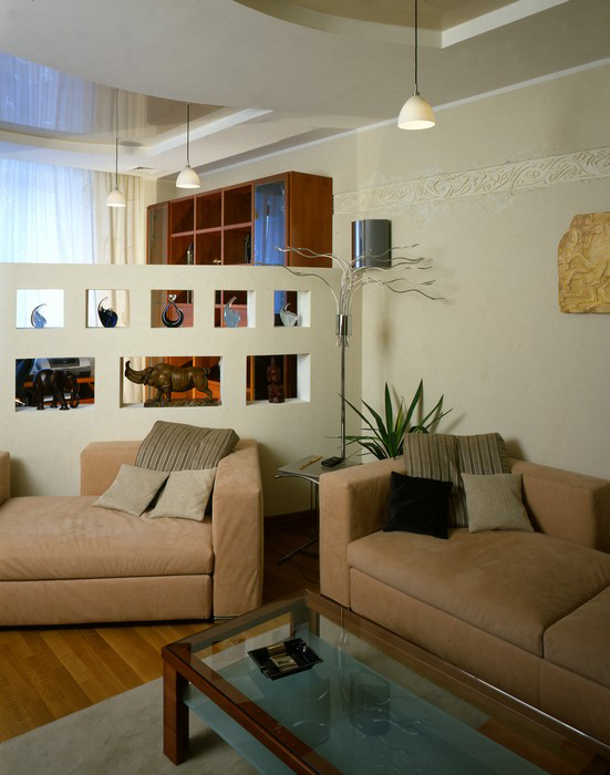 интерьер гостиной - фото № 8890