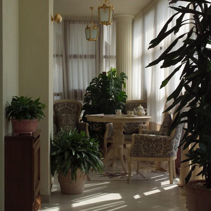 Квартира. зимний сад из проекта , фото №8940