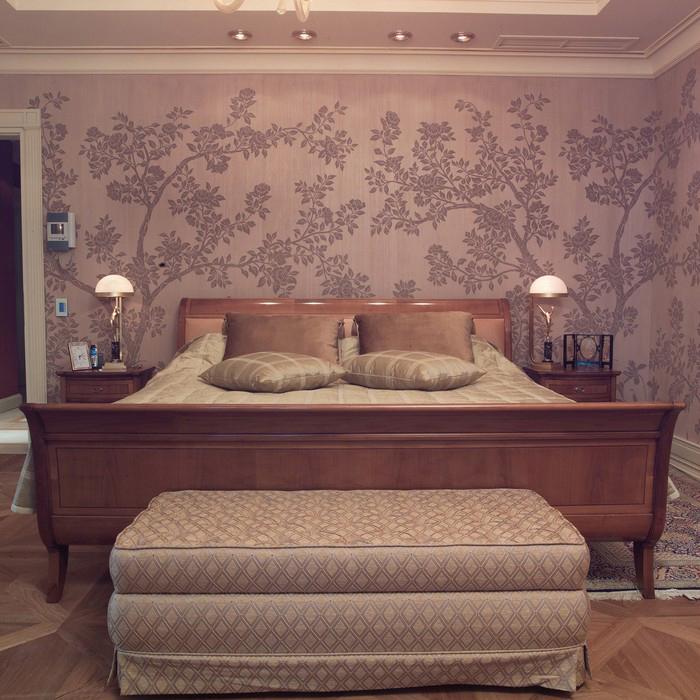 Квартира. спальня из проекта , фото №8938