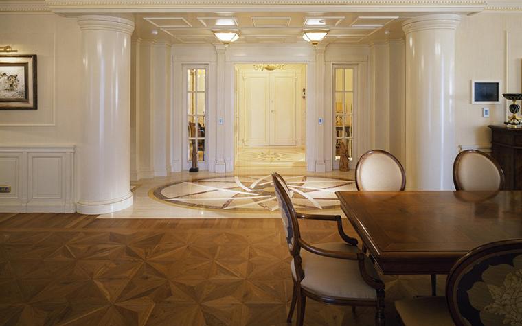 Квартира. столовая из проекта , фото №8933