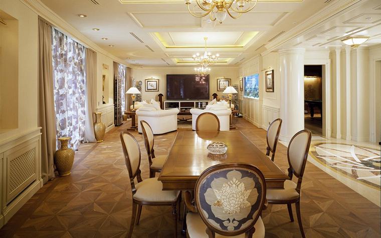 Квартира. столовая из проекта , фото №8934