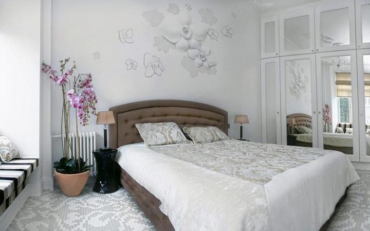 Квартира. спальня из проекта , фото №8944