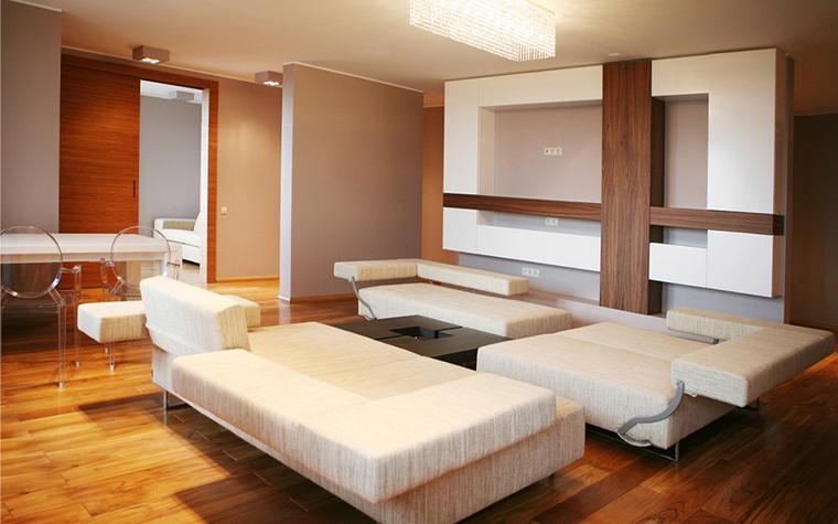 Квартира. гостиная из проекта , фото №9070